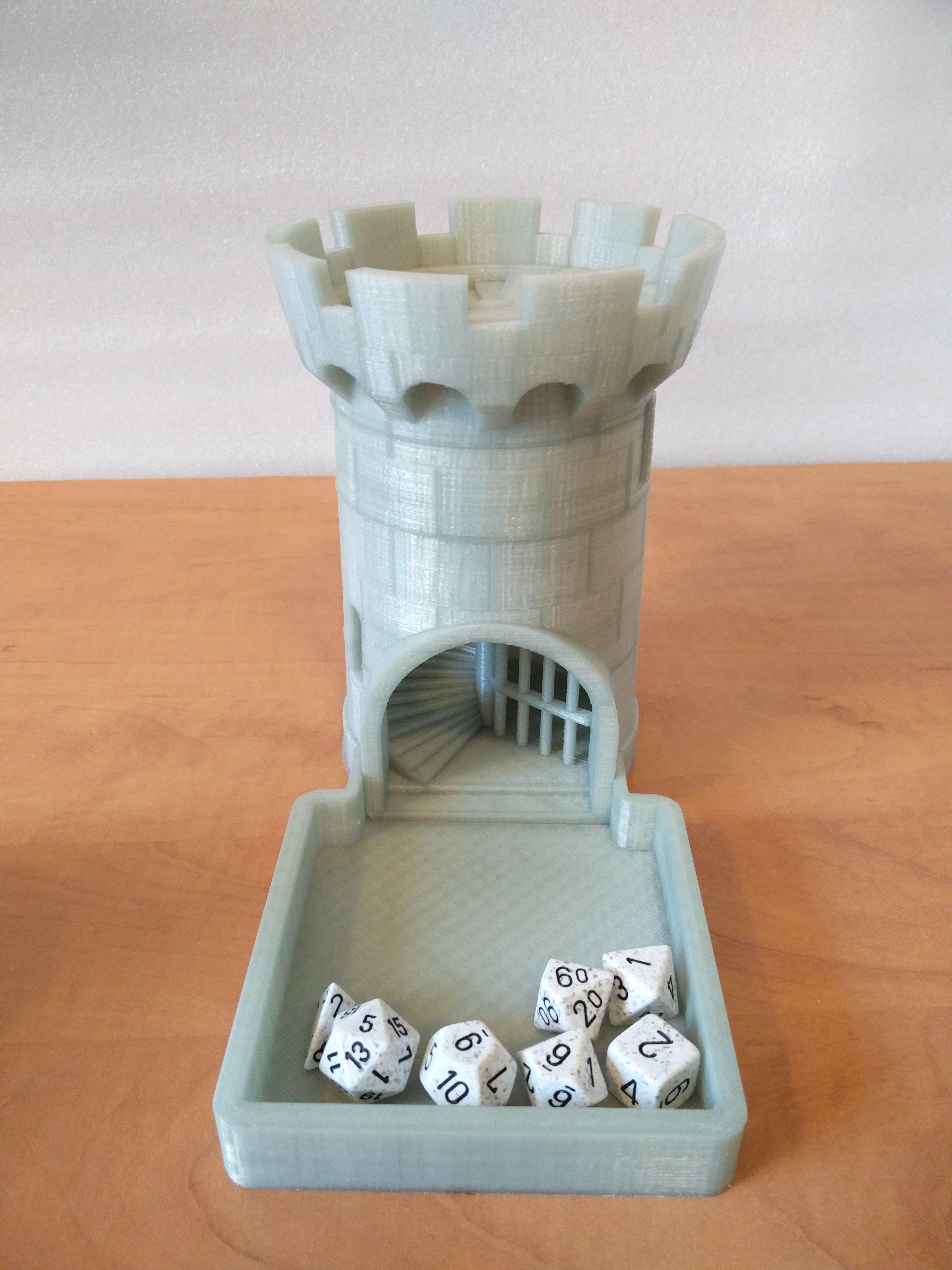 Dice Tower Black Castle Dice Towers